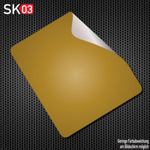 Untergrund Folie unter einer Startnummer in Gold