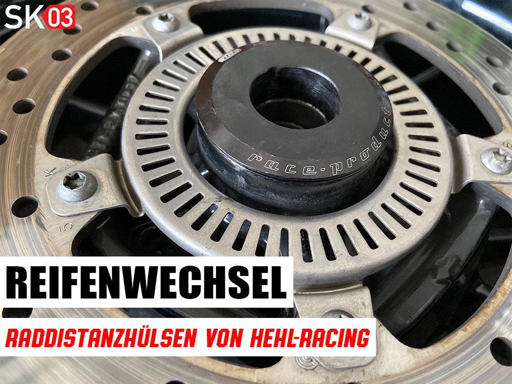 Hehl Racing Raddistanzhülsen für Motorrad Felgen