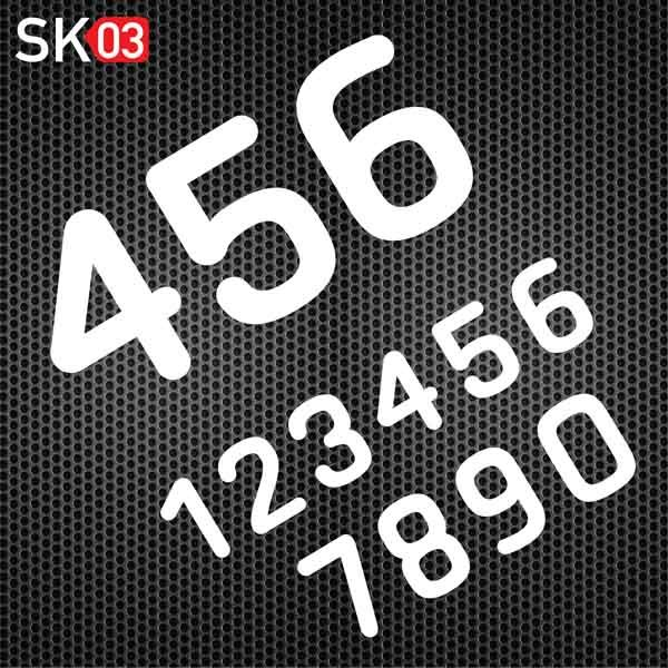 Deine Motocross Startnummern im eigenen Design