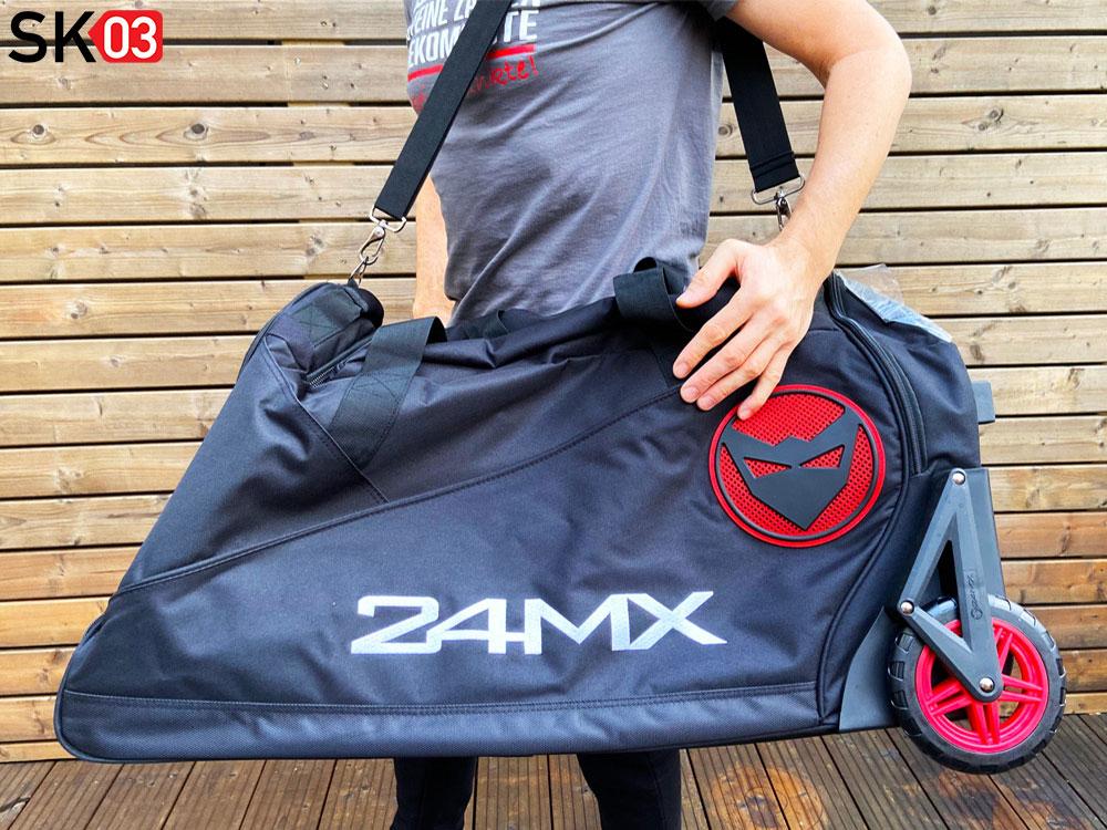 Motorrad Reisetasche mit Rollen für die Bekleidung